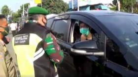 Razia di Puncak, Belasan Mobil Pelat B Dipaksa Putar Balik