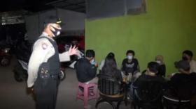 Razia Pusat Kuliner di Jagakarsa, Polisi Temukan Puluhan Remaja Nongkrong