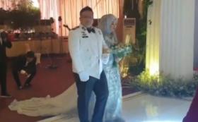 Perwira Polisi Gelar Pesta Pernikahan di Tengah Covid-19