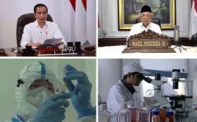 Setahun Jokowi-Maruf Amin, Program Prioritas Berubah Haluan Akibat Covid-19
