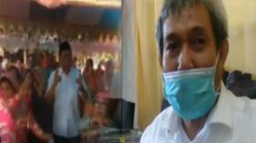 Viral Calon Bupati Joget Tanpa Masker di Pesta Pernikahan