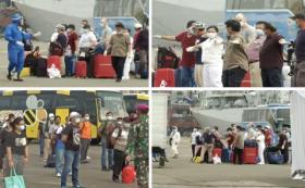 Puluhan ABK Kapal Pesiar Costa Serena Dievakuasi Via Tanjung Priok