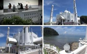 Viral Video Sekelompok Perempuan Joget TikTok di Masjid Ikon Kota Padang
