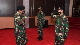 Panglima TNI Terima Laporan Korps Kenaikan Pangkat 35 Pati TNI
