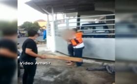 Aksi Heroik Juru Parkir Tangkap Pencuri Motor