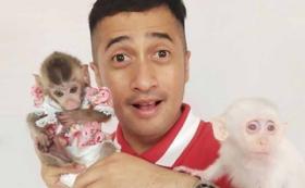 Irfan Hakim dan Happy Asmara Jatuh Cinta ke Monyet Pantai