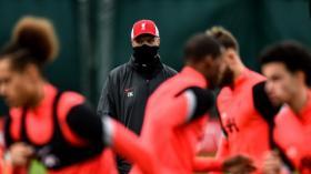 Latihan Liverpool Jelang Laga Kontra Ajax Amsterdam