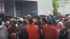 Proses Pencairan Bantuan bagi UMKM di Tasikmalaya Ricuh