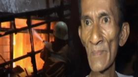 Rumah Pedagang Bensin Eceran di Glodok Ludes Terbakar