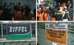 Razia Panti Pijat di Tangsel, Satpol PP Amankan 16 Pasangan Mesum