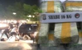 Dramatis, Detik-detik Penangkapan Perwira Polisi Terlibat Narkoba di Pekanbaru