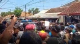 Maling Motor Babak Belur Dihakimi Massa di Probolinggo