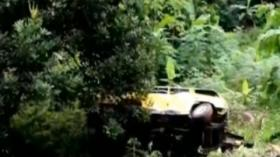 Minibus Masuk Jurang di Ciamis, Satu Penumpang Tewas
