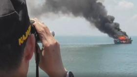 Curi Ikan di Perairan Indonesia, Dua Kapal Malaysia Dimusnahkan