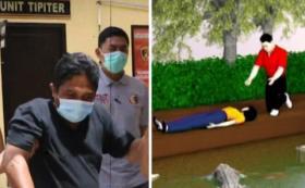 Pelaku Pembunuhan Wanita di Kandang Buaya Mengaku Kesal Dilapori Hamili Korban