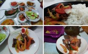 Nikmatnya Dendeng Baracik, Makanan Khas Solok