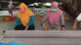 Keunikan Karpet Serat Pisang yang Mendunia