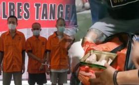 Polisi Temukan Ribuan Pil Ekstasi dalam Kaleng Biskuit