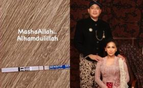 Baru Menikah, Tata Janeeta Langsung Hamil Anak Raden Brotoseno