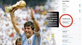 Diego Maradona Meninggal  RIPMaradona Trending