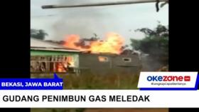 Gudang Elpiji di Bekasi Meledak, Diduga Akibat Aktivitas Pengoplosan