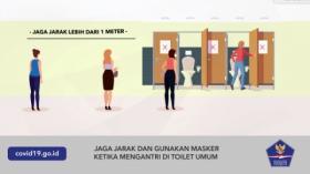 Tips Aman Menggunakan Toilet Umum di Masa Pandemi