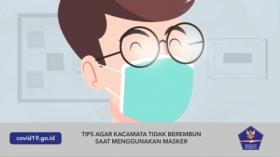 Tips Agar Kacamata Tidak Berembun Saat Menggunakan Masker