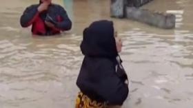 Ribuan Rumah di Kota Tebing Tinggi Terendam Banjir
