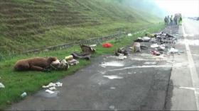 Kecelakaan Beruntun di Tol Cipali, 10 Orang Meninggal Dunia