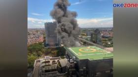 SPBU Jalan MT Haryono Jakarta Terbakar, Sempat Terdengar Ledakan