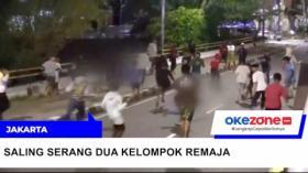 Tawuran Remaja di Jakarta