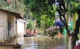 Korban Banjir di Kabupaten Simalungun, Protes Belum Dapat Bantuan