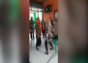 PNS Berjoged Dangdut di Pinrang Kena Sanksi