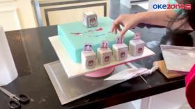 Sambut Pilkada Serentak, Toko Kue Buat Cake Unik Berbentuk Kotak Suara