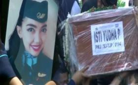 Pramugari Korban Pesawat SJ-182 Dimakamkan