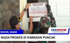 Langgar Prokes, Vila di Bogor Disegel