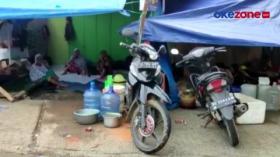 Pengungsi di Mamuju Kesulitan Air Bersih