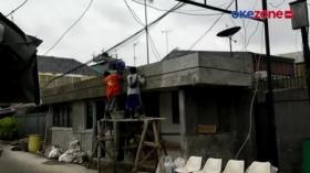 Pembangunan Posko Tiga Pilar di Bekas Markas FPI Hampir Rampung