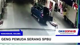 Geng Pemuda Serang SPBU di Makassar, Tebas Karyawan dengan Parang