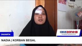 Hindari Begal, Seorang Wanita Tabrak Bengkel di Jakarta Timur