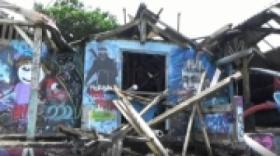 Detik-Detik Puting Beliung Terjang Pantai Pererenan, Kuta