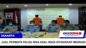Jual Permata Palsu, Dua WNA Ditangkap di Jakarta Selatan