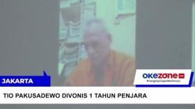 Tio Pakusadewo Divonis 1 Tahun Penjara