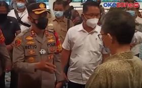 Wakapolres Jakarta Pusat Sidak Lokasi Konpers Tim Advokasi Enam Laskar FPI