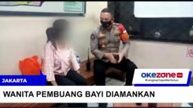 Polisi Tangkap Wanita yang Buang Bayi di Saluran Air Pulogadung, Jaktim