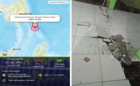 Gempa M 7,1 di Melonguane, Lantai RSUD Talaud Dikabarkan Retak