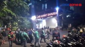 Puluhan Ojol Jemput Paksa Jenazah Reaktif Covid-19 di RS Hermina Kemayoran