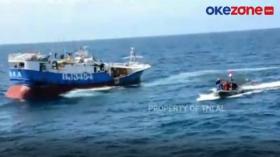 Kapal Asing Berbendera Taiwan Ditangkap di Perairan Natuna