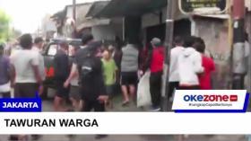 Rekaman Video Aksi Tawuran di Jatinegara