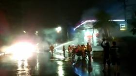 Ledakan dan Kebakaran Dekat SPBU